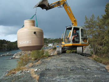Biovac montering